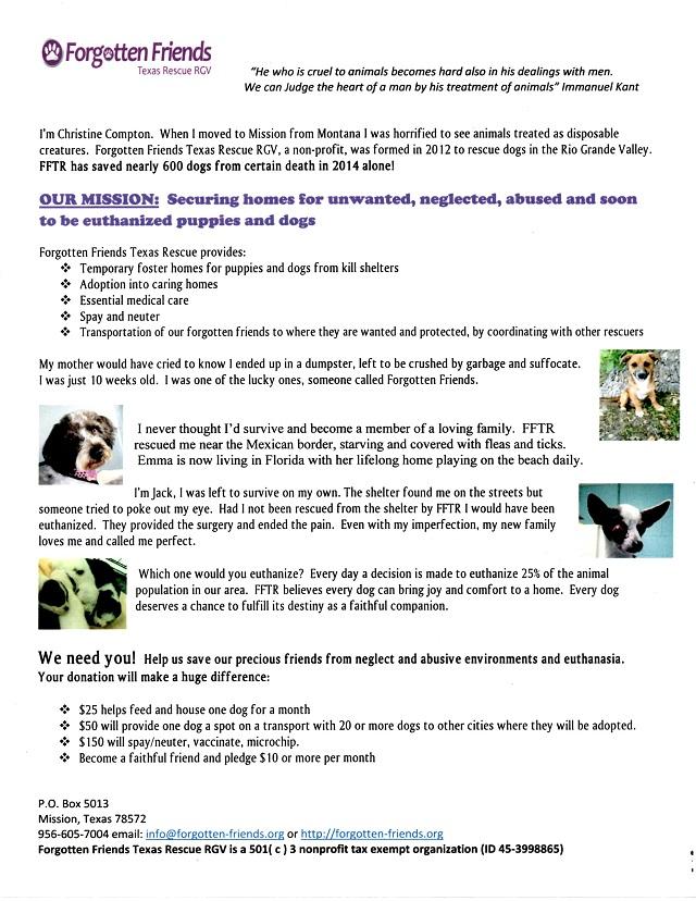 Donation Letter 2015-1