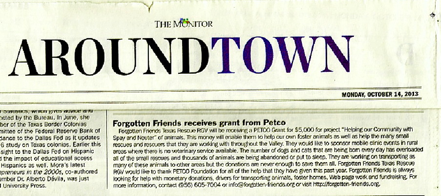 PETCO Announces Grant for Spay and Neuter
