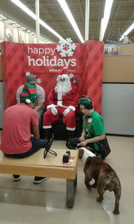 Santa at Petco