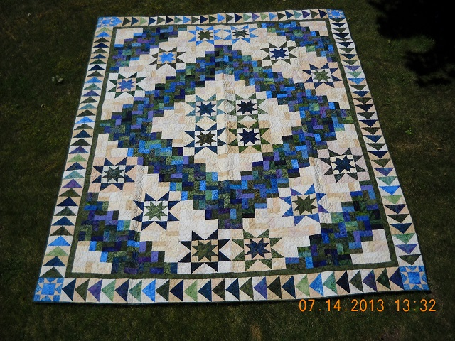 Quilt Raffle to be drawn December 14, 2013